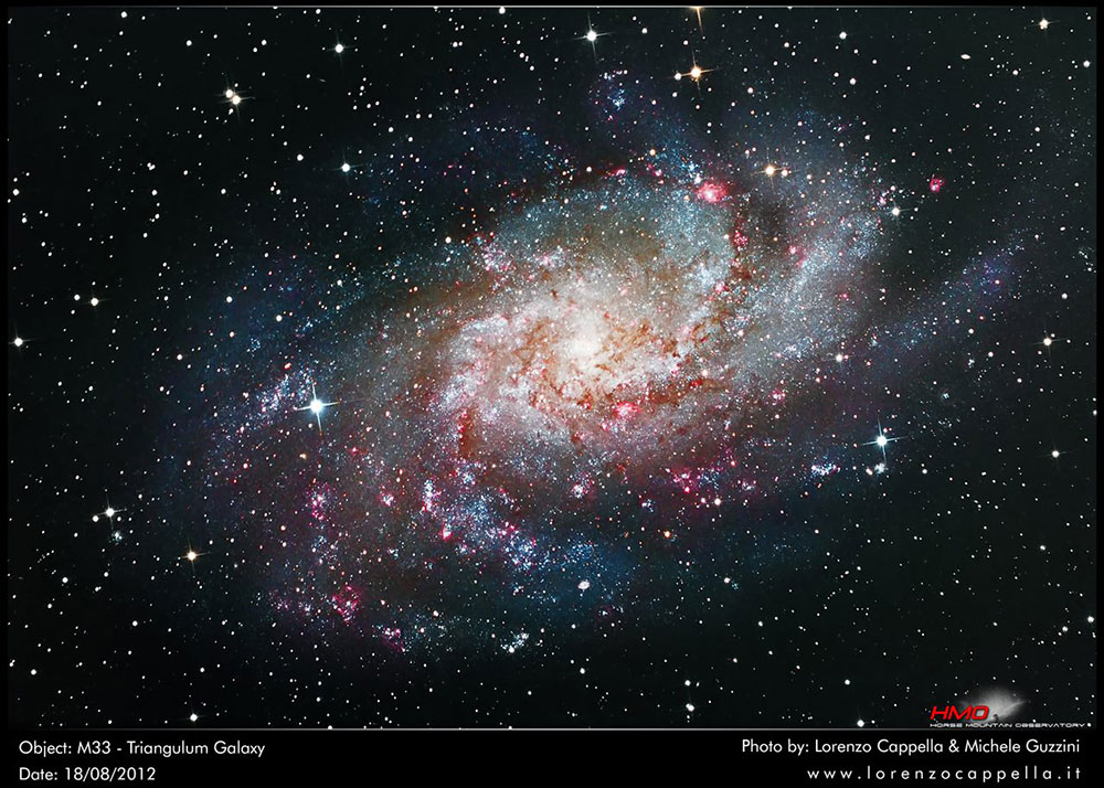 m33 - Whirpool Galaxy